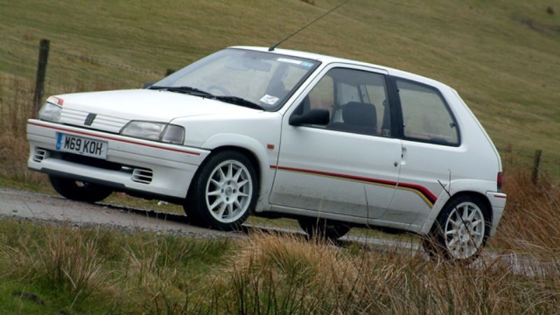drivers generation | cult driving perfection – peugeot 106 rallye