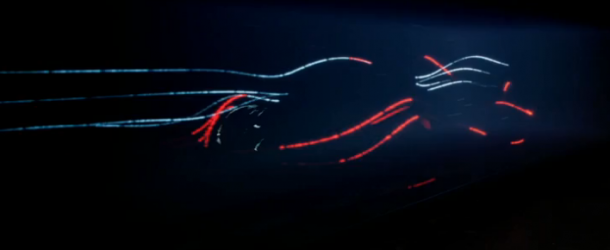 McLaren Paints a Picture With Light