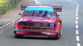 Keith Edwards' 800bhp quattro: Isle of Man Classic