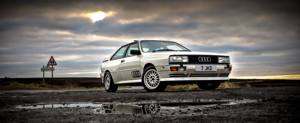 Feature: iconic ur quattro in the peaks